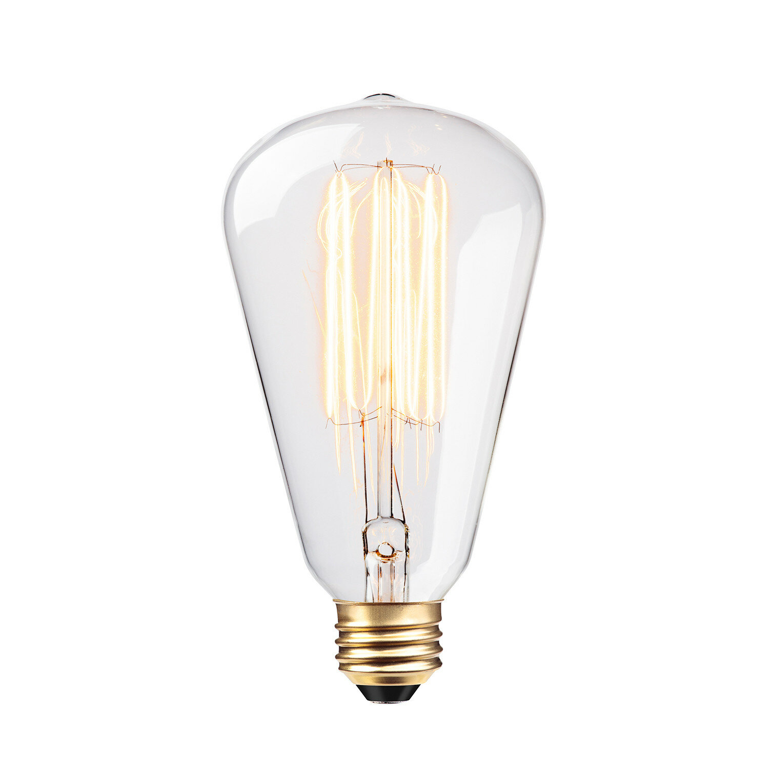 Williston Forge Trahan 60W Incandescent Vintage Filament Light Bulb