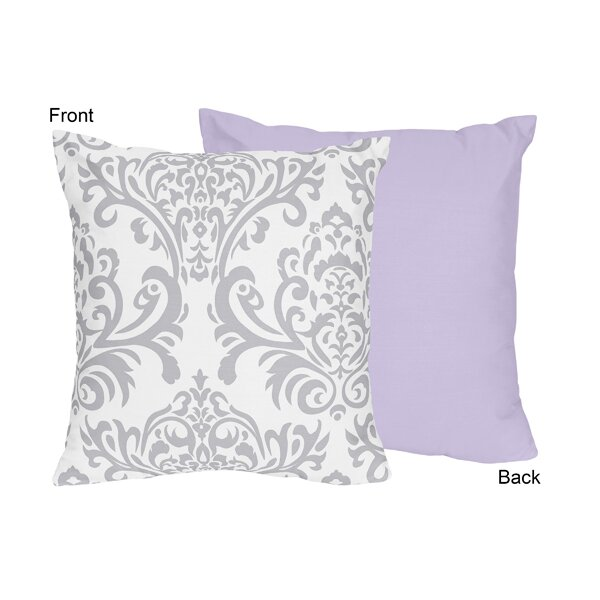 Elizabeth Cotton Throw Pillow by Sweet Jojo Designs