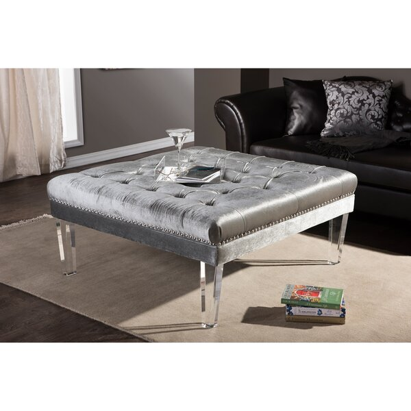 Edna Cocktail Ottoman by Wholesale Interiors