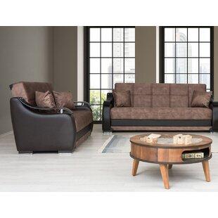 Ajanea Sleeper Configurable Living Room Set by Orren Ellis
