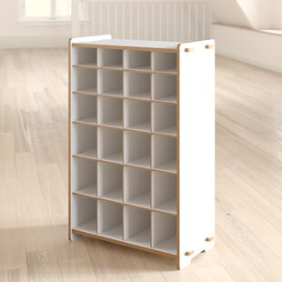 Halle 24-Compartment 24 Pair Shoe Rack ByViv + Rae