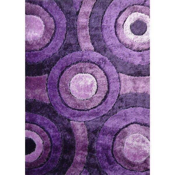Sigiriya Hand-Tufted Lavender Area Rug by Orren Ellis