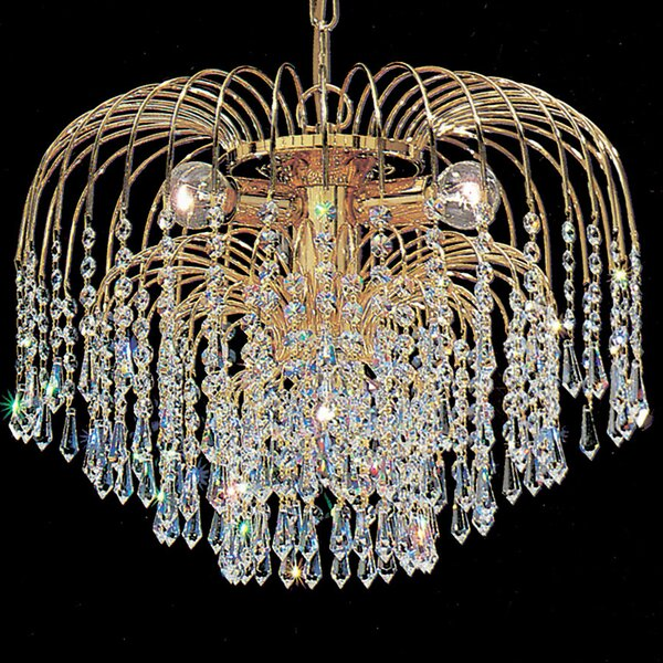 Greeson 4 - Light Unique / Statement Classic / Traditional Chandelier By House Of Hampton