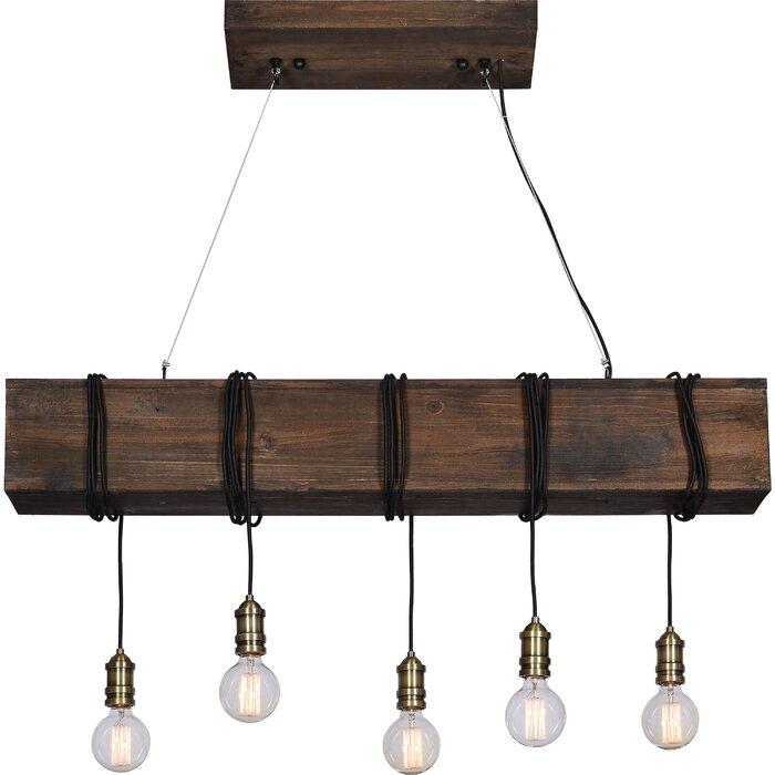 Memphis 5-Light Kitchen Island Bulb Pendant