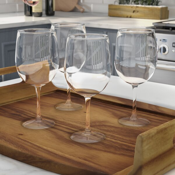 Dunn Glass 4-Piece Assorted All Purpose Glass Set (Set of 4) by Mint Pantry
