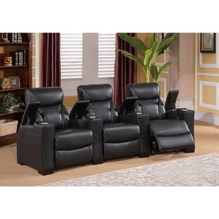 Bristol Home Theater 3 Row Recliner Coja