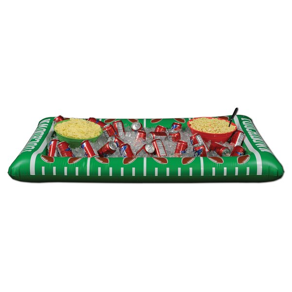 48 Can Inflatable Football Buffet Cooler by The Be