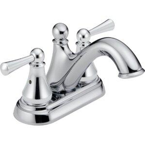 haywood double handle centerset bathroom faucet