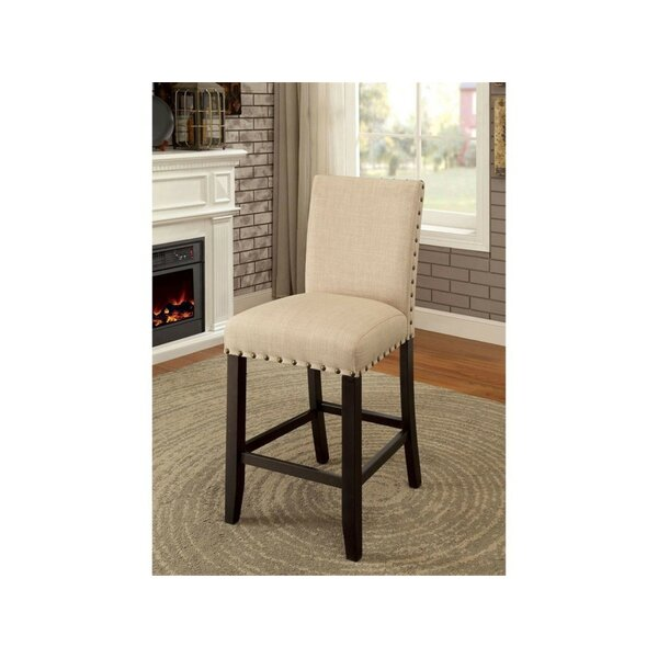 Rigby Counter Height Upholstered Dining Chair (Set of 2) by Alcott Hill