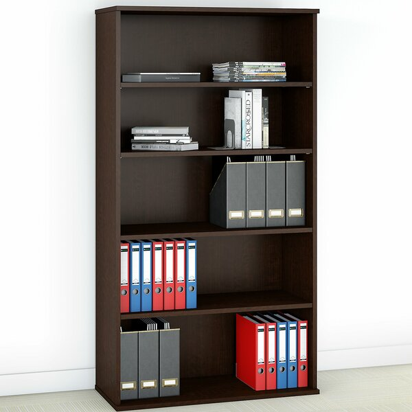 5 Shelf Standard Bookcase by Bush Business Furniture