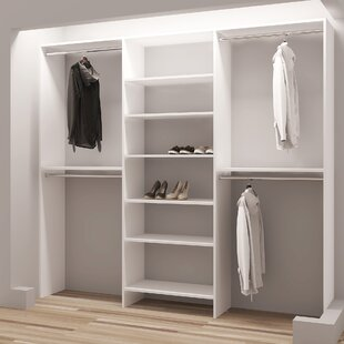 Demure Design 87W Closet System By TidySquares Inc.