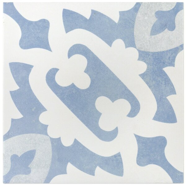 Anabella 9 x 9 Porcelain Field Tile in Moma by Splashback Tile