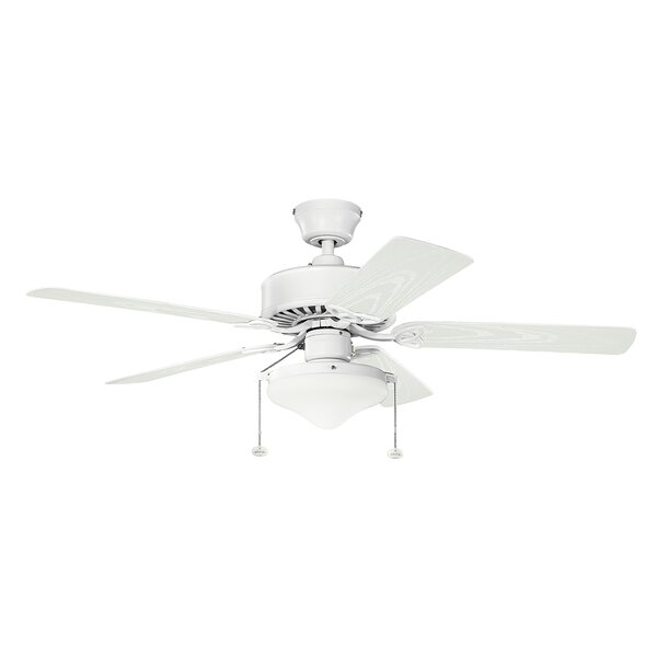 Borgen 52 Select 5-Blade Patio Ceiling Fan by Alcott Hill
