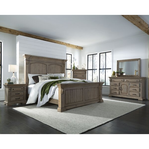 Pettit Panel Configurable Bedroom Set by Gracie Oaks
