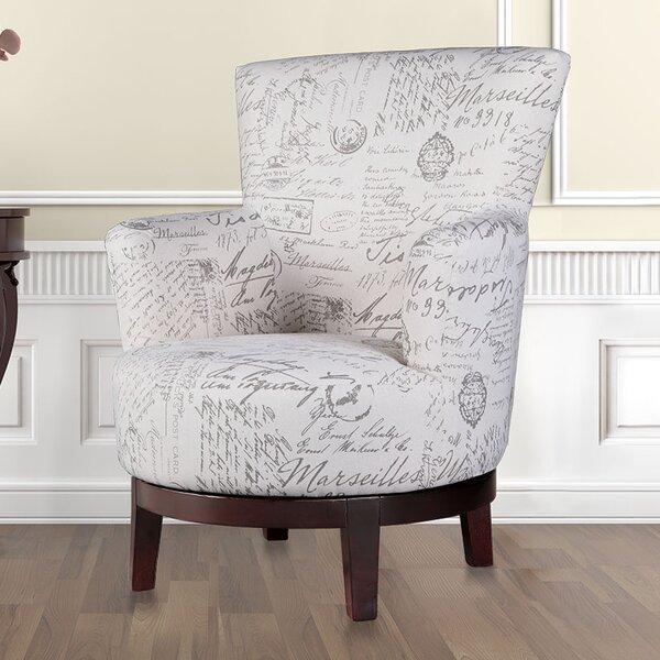 Aldridge Swivel Armchair by Lark Manor