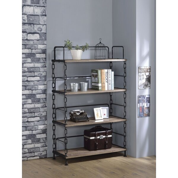 Lipscomb Industrial Looking Etagere Bookcase by 17 Stories