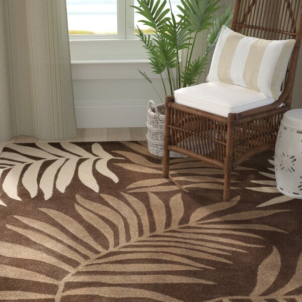 Gainesville Hand Tufted Brown Area Rug by Bayou Breeze