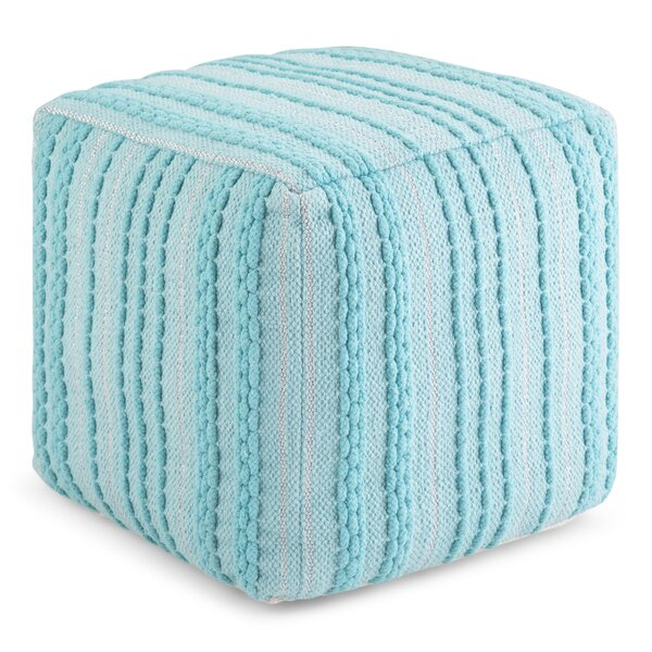 Pranay Square Pouf by Wrought Studio Wrought Studio