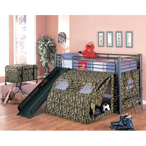 G.I Twin Low Loft Bed by Wildon Home®