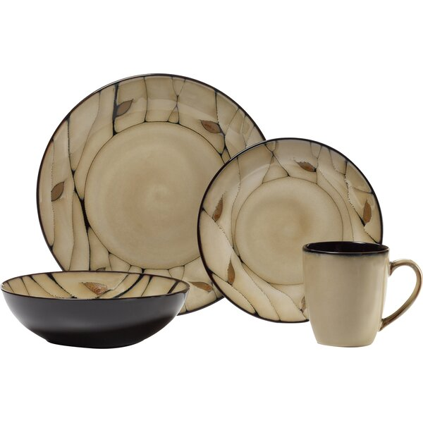 Everyday Briar 16 Piece Dinnerware Set, Service for 4 by Pfaltzgraff Everyday