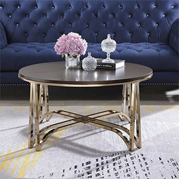 Best Price Treadaway Wooden Coffee Table