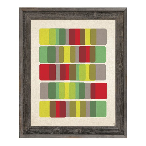 Film Frames Framed Graphic Art on Canvas by Click Wall Art