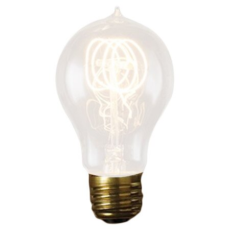 Nostalgic Edison 25W 120-Volt Incandescent Light Bulb (Set of 3) by Bulbrite Industries