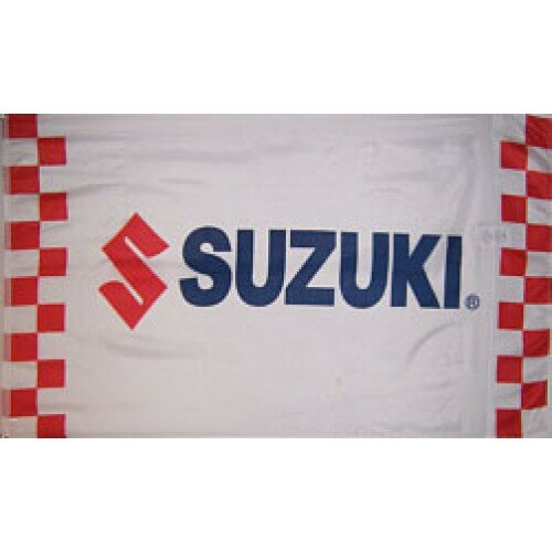 Suzuki Motors Racing Polyester 3 x 5 ft. Flag by NeoPlex