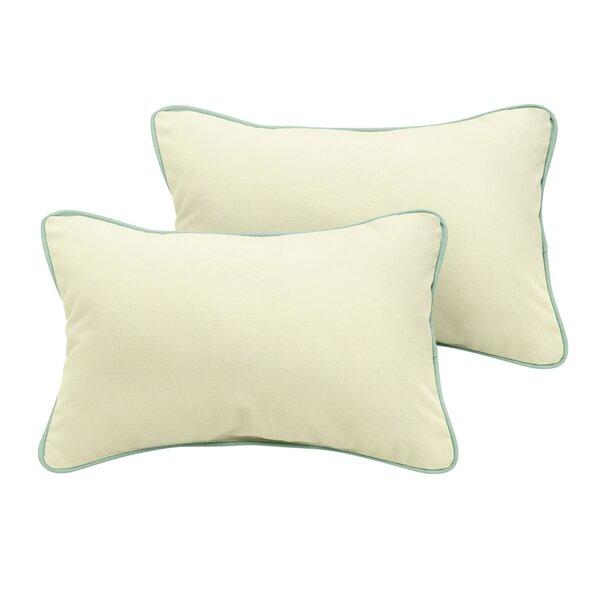 Cruz Sunbrella Outdoor Lumbar Pillow (Set of 2) by Red Barrel Studio