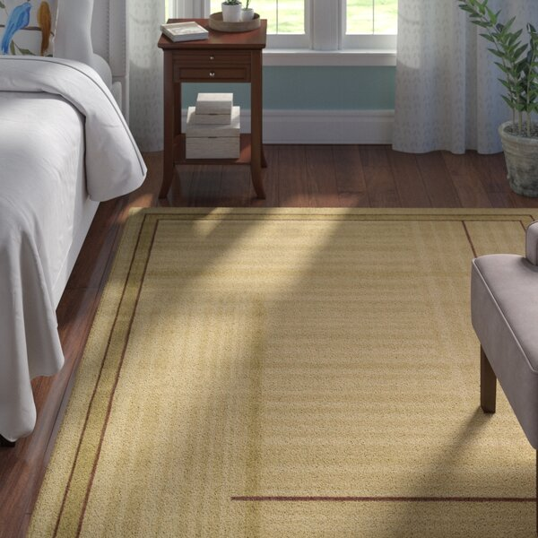 Smithtown Gold Area Rug by Andover Mills
