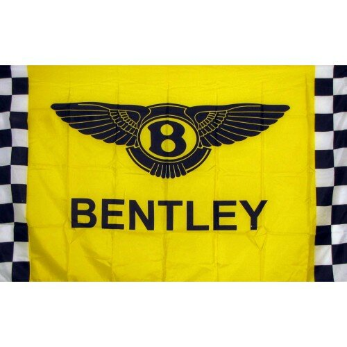 Bentley Checkered Polyester 3 x 5 ft. Flag by NeoPlex
