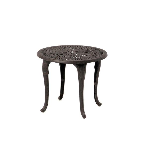 Merlyn Metal Side Table by Fleur De Lis Living