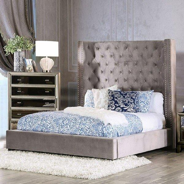 Gouldin Upholstered Standard Bed by Red Barrel Studio