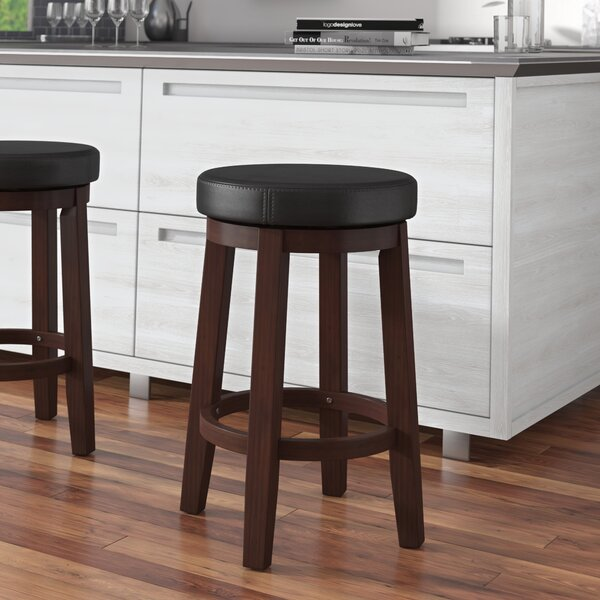 Colesberry 25 Swivel Bar Stool By Andover Mills.