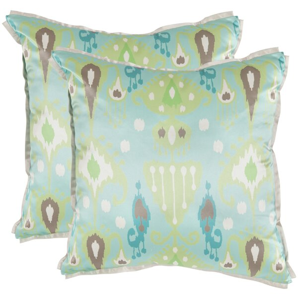 Baisley Throw Pillow (Set of 2) by Bloomsbury Market