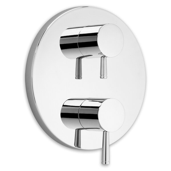 Serin Dual Shower Faucet Trim Kit with Two Handles by American Standard