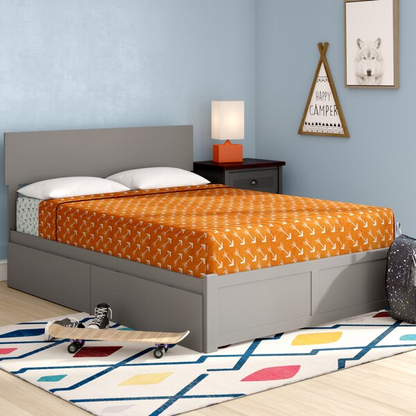 Amodio Full Platform Bed With Drawers By Mack & Milo