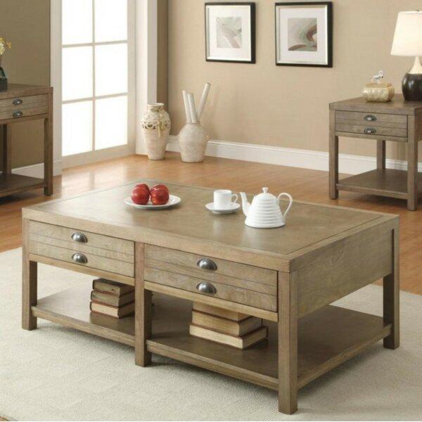 Wightman Coffee Table by Loon Peak