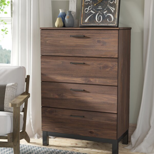 Jaiden 4 Drawer Chest by Laurel Foundry Modern Farmhouse