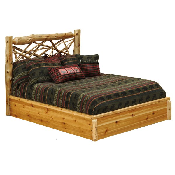 Cedar Platform Bed by Fireside Lodge