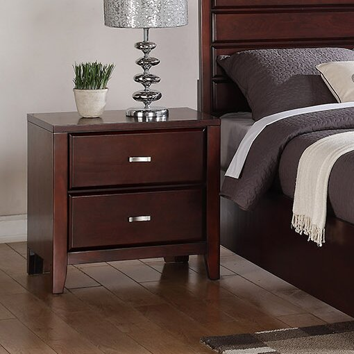Acropolis 2 Drawer Nightstand by Andover Mills