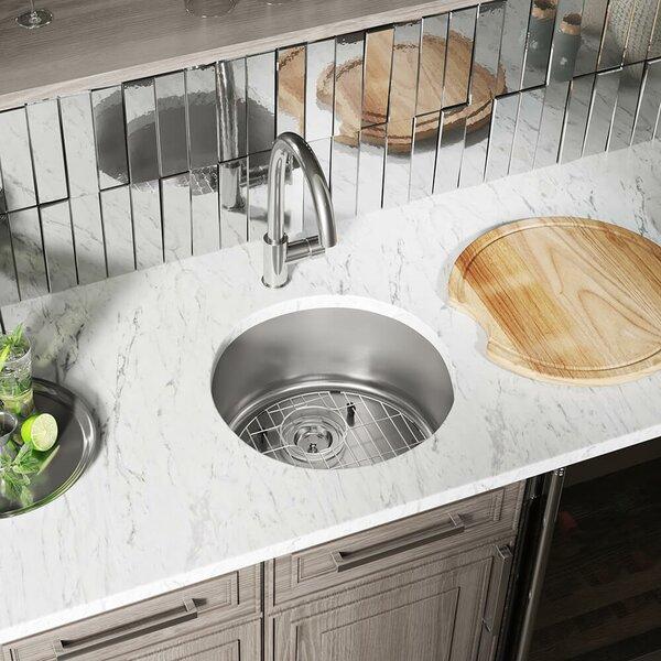 Stainless Steel 18 x 18 Dual Mount Kitchen Sink
