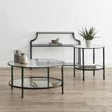 Broward 3 Piece Coffee Table Set by Everly Quinn