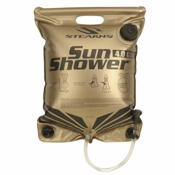Solar Powered Hanging Outdoor Shower by Coleman