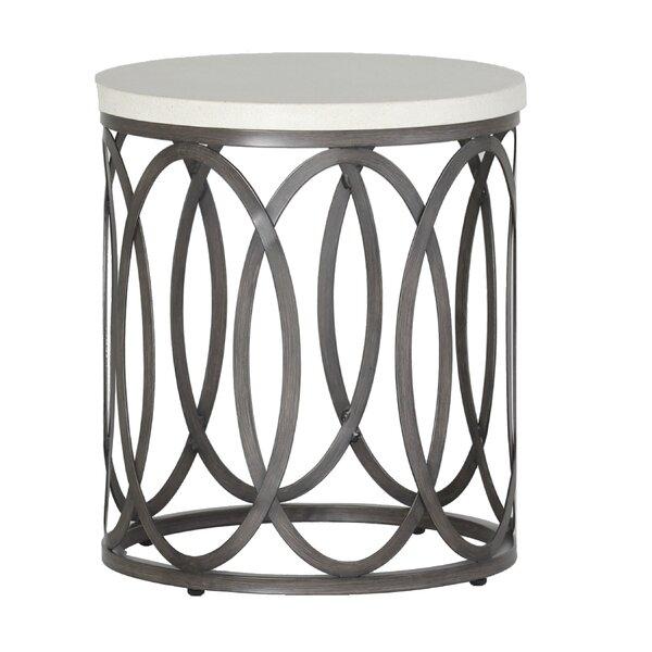 Ella Stone/Concrete Side Table by Summer Classics
