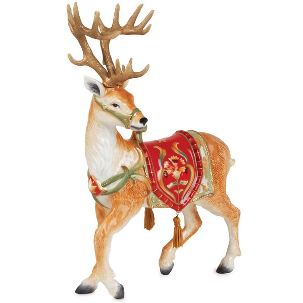 Bellacara Deer Figurine by Fitz and Floyd