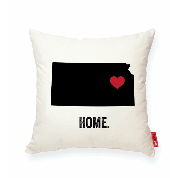 Pettry Kansas Cotton Throw Pillow by Wrought Studio