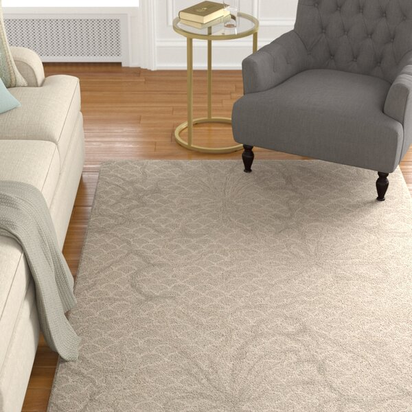 Stalbridge Hand-Tufted Latte Area Rug by Darby Home Co