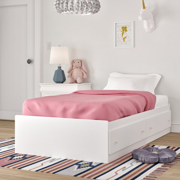 Cremont Twin Mates & Captains Bed with Drawers by Harriet Bee
