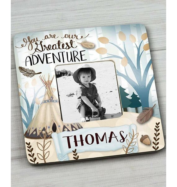 Adventure Personalized Picture Frame by Toad and Lily